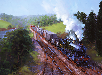 Severn Valley Goods Train