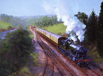 Severn Valley Passenger Train